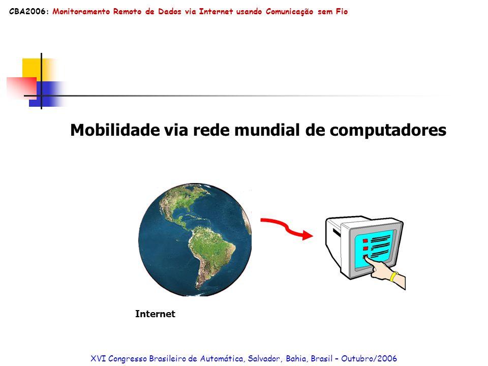 Mobilidade via rede mundial de computadores