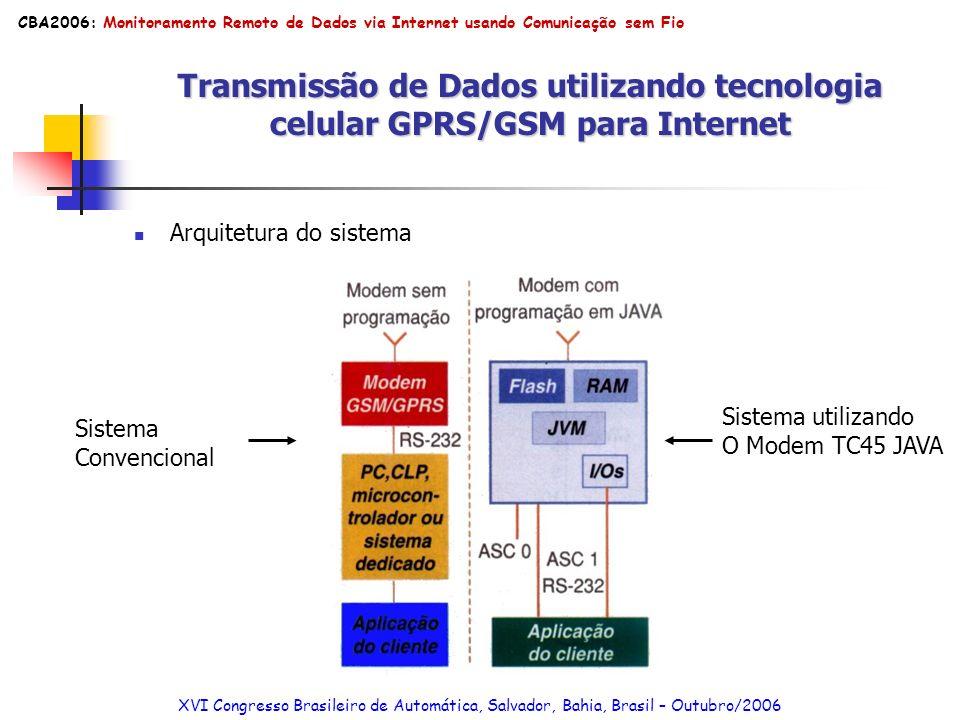 MONITORAMENTO REMOTO DE DADOS VIA INTERNET USANDO COMUNICAÇÃO SEM FIO