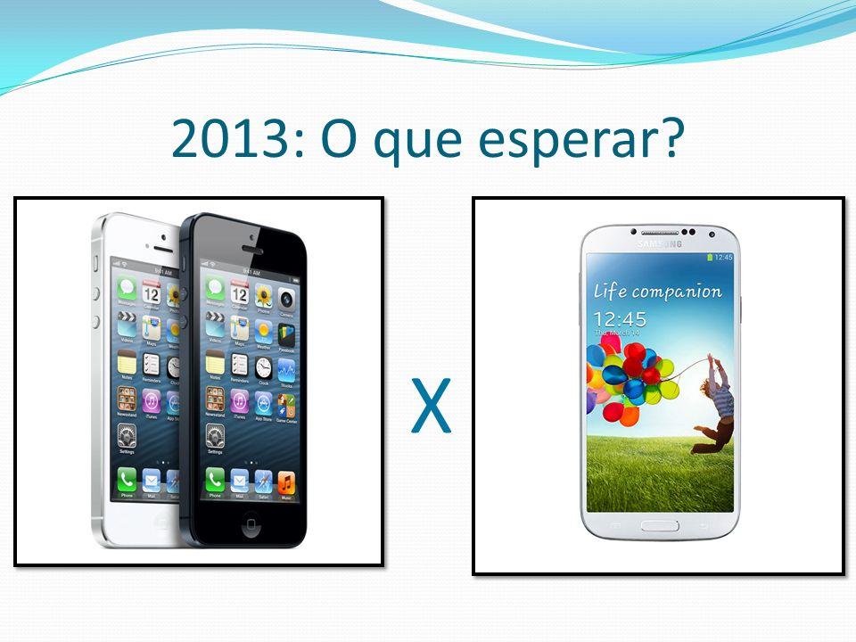 2013: O que esperar X