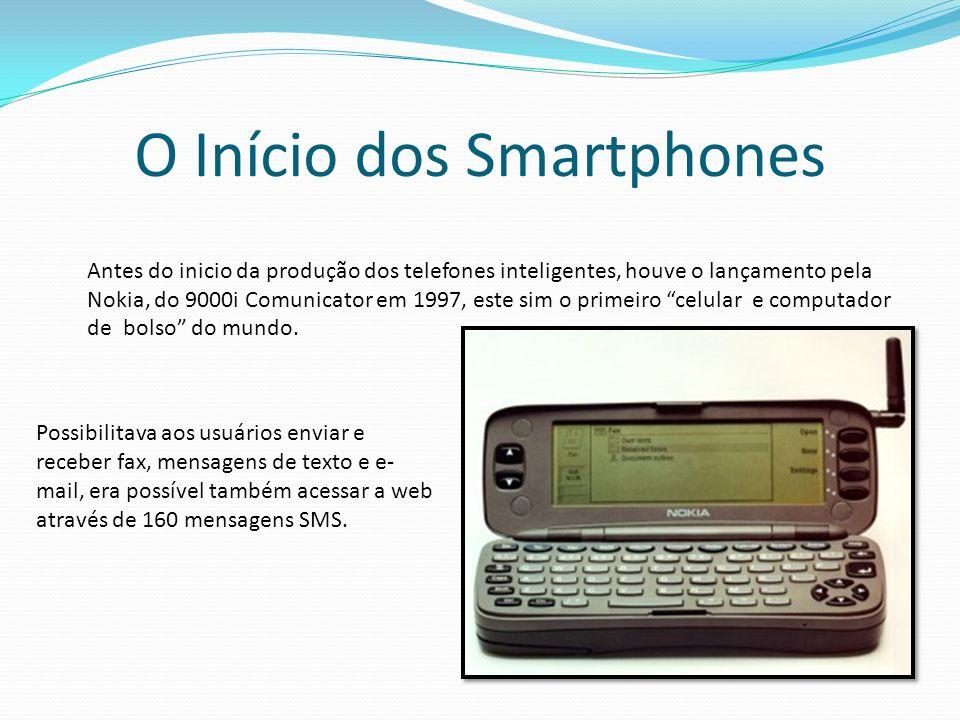 O Início dos Smartphones