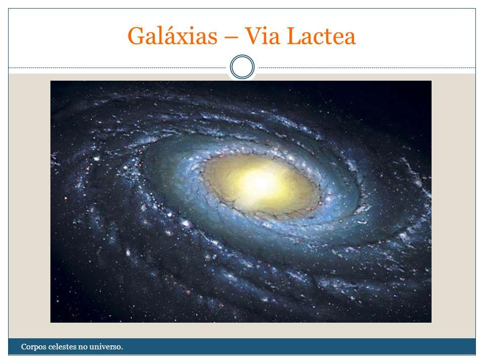Galáxias – Via Lactea Corpos celestes no universo.