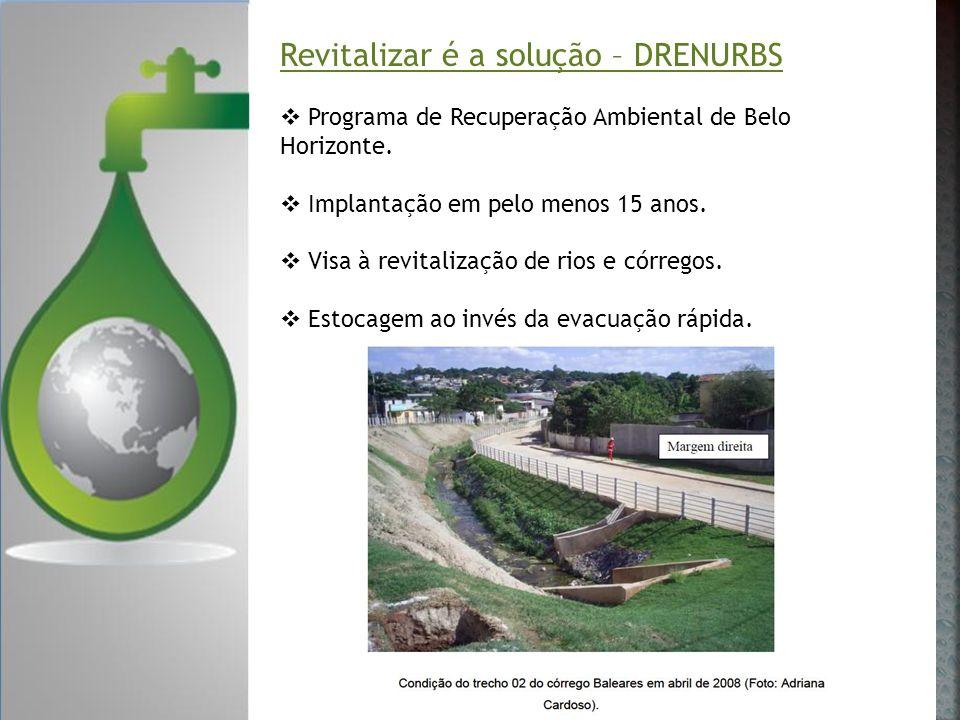 Revitalizar é a solução – DRENURBS