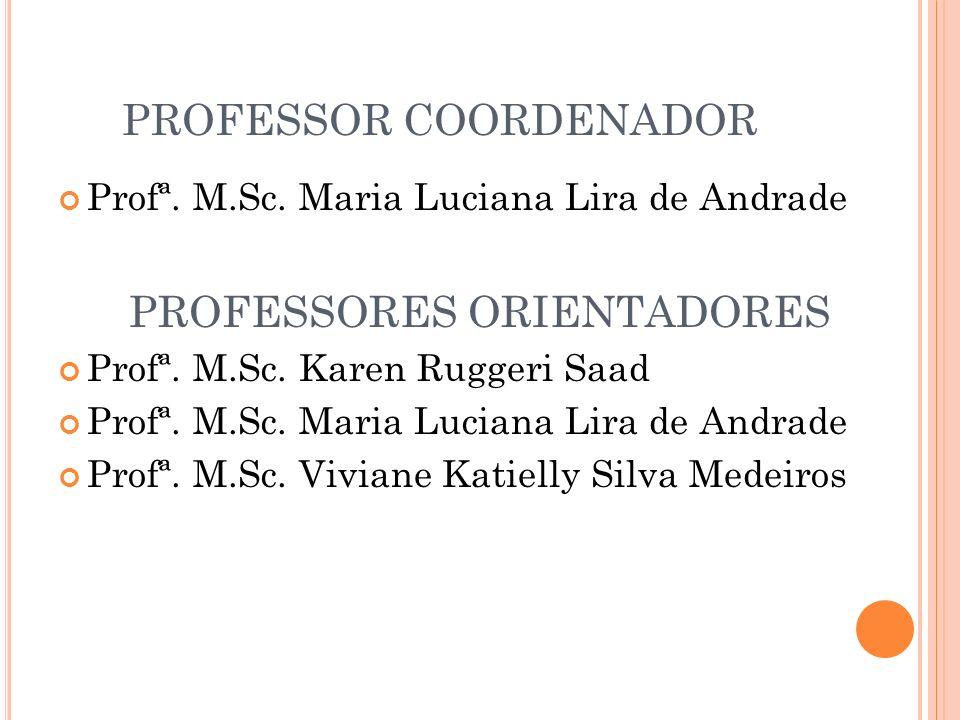 PROFESSOR COORDENADOR