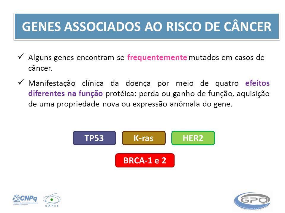GENES ASSOCIADOS AO RISCO DE CÂNCER