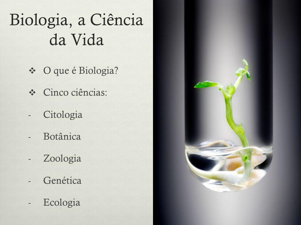 Biologia, a Ciência da Vida