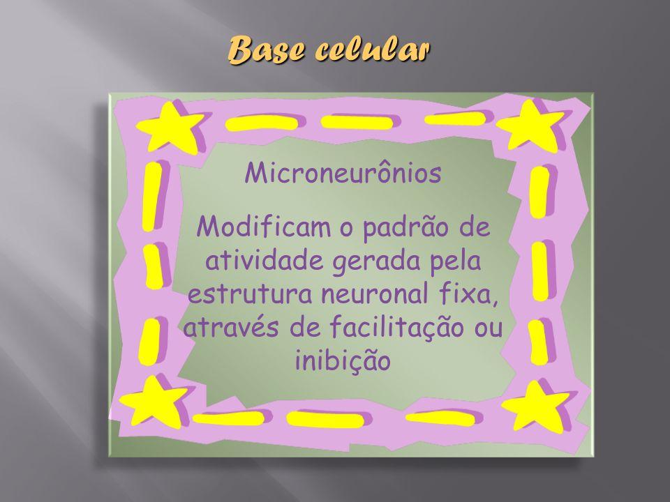 Base celular Microneurônios