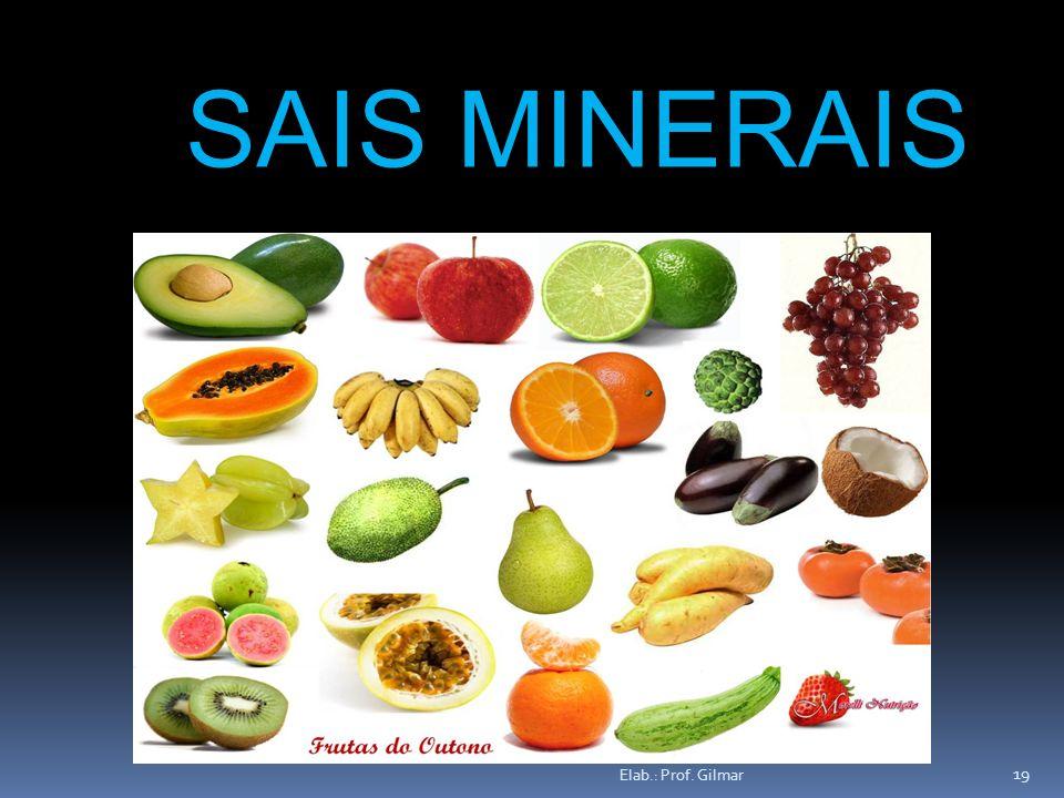 SAIS MINERAIS Elab.: Prof. Gilmar
