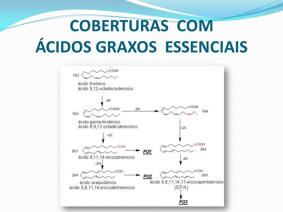 COBERTURAS COM ÁCIDOS GRAXOS ESSENCIAIS