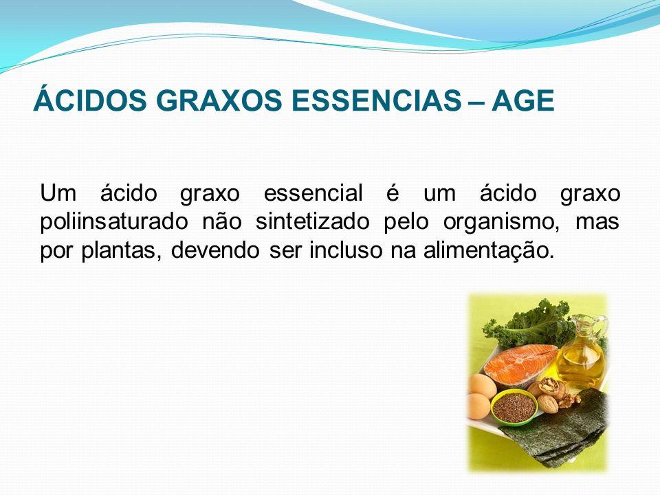 ÁCIDOS GRAXOS ESSENCIAS – AGE