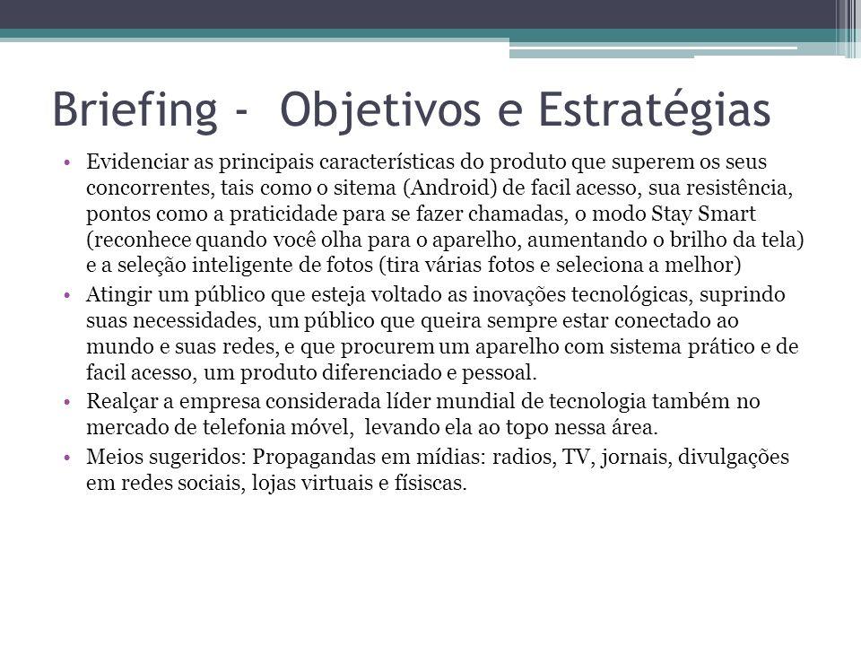 Briefing - Objetivos e Estratégias