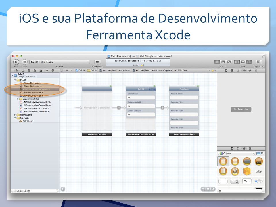 iOS e sua Plataforma de Desenvolvimento Ferramenta Xcode