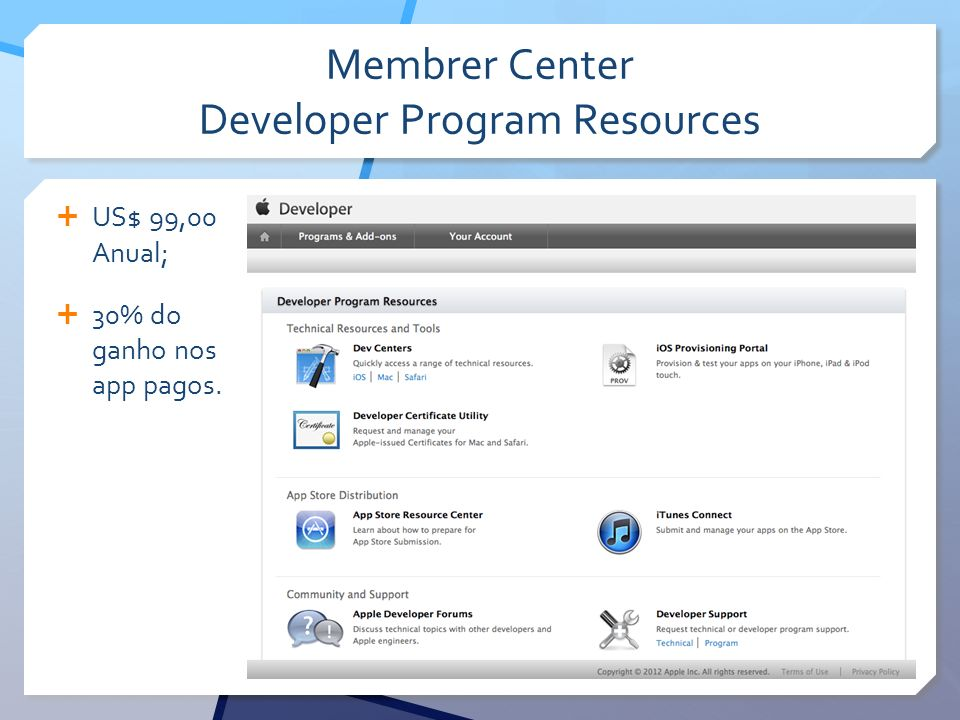 Membrer Center Developer Program Resources