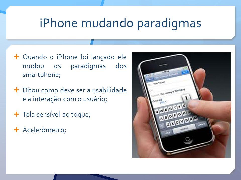 iPhone mudando paradigmas