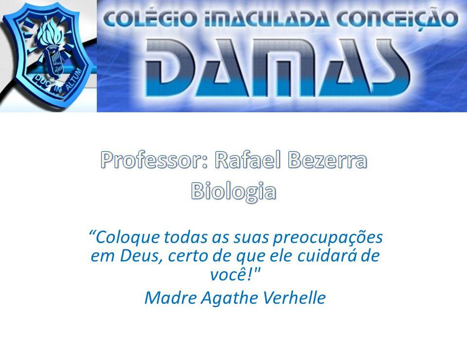 Professor: Rafael Bezerra Biologia