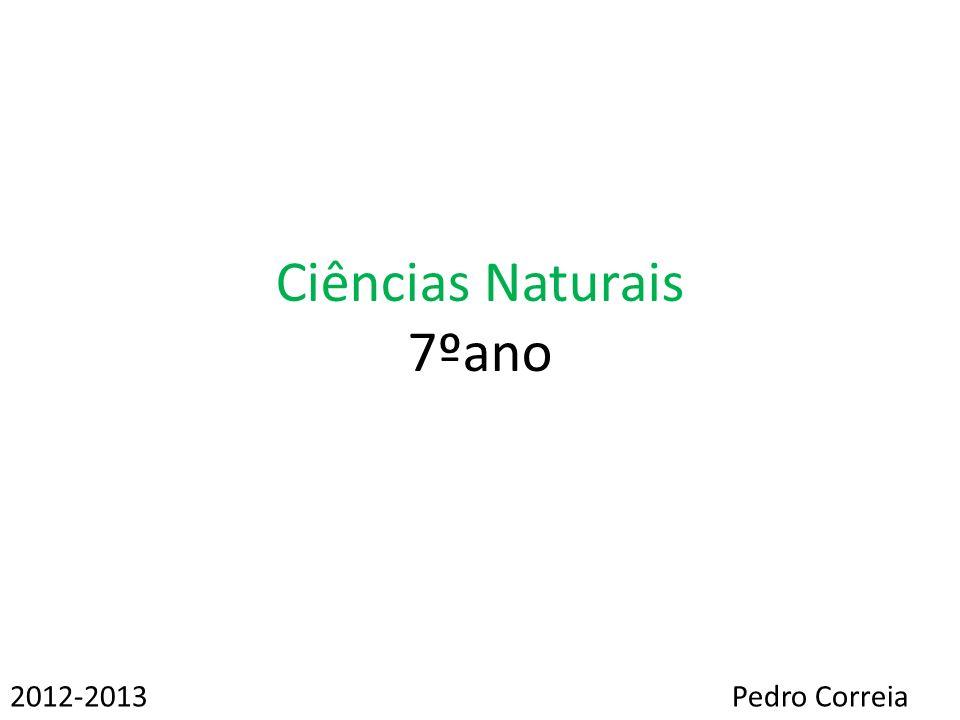 Ciências Naturais 7ºano