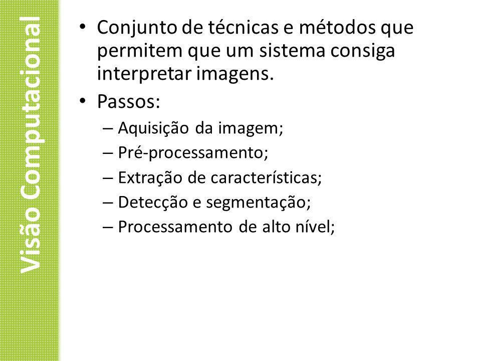 Conjunto de técnicas e métodos que permitem que um sistema consiga interpretar imagens.