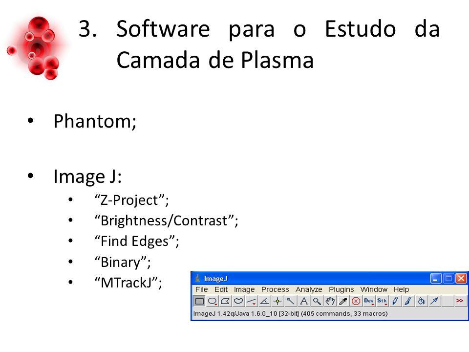 Software para o Estudo da Camada de Plasma