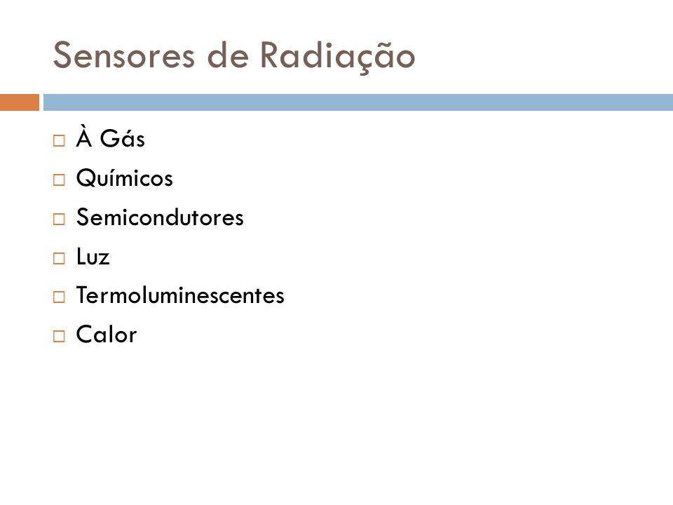 Sensores de Radiação À Gás Químicos Semicondutores Luz