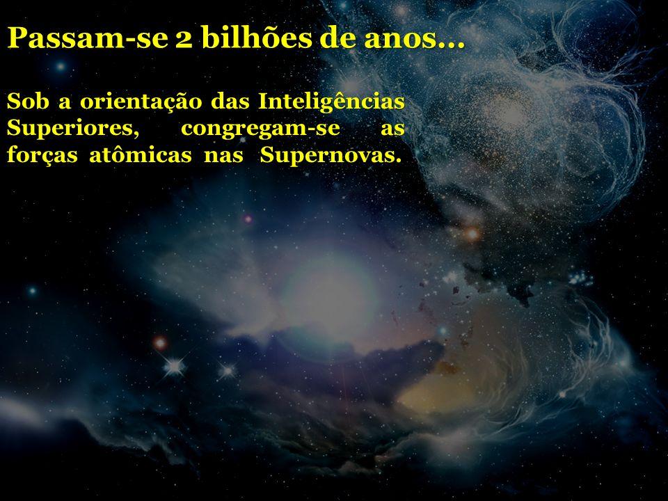 Passam-se 2 bilhões de anos...