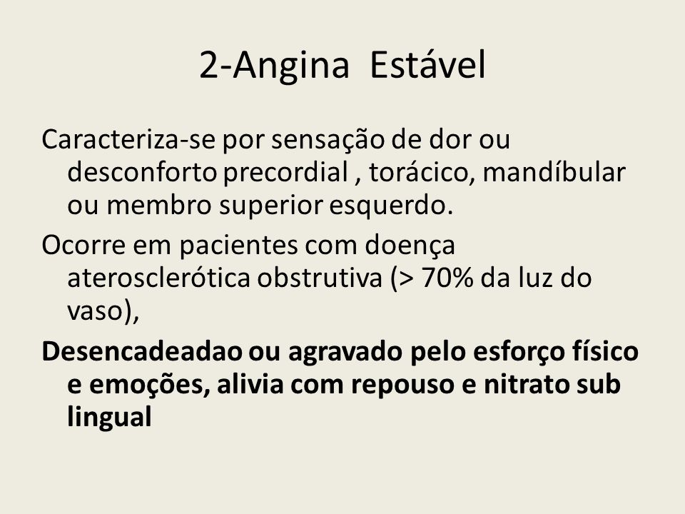 2-Angina Estável