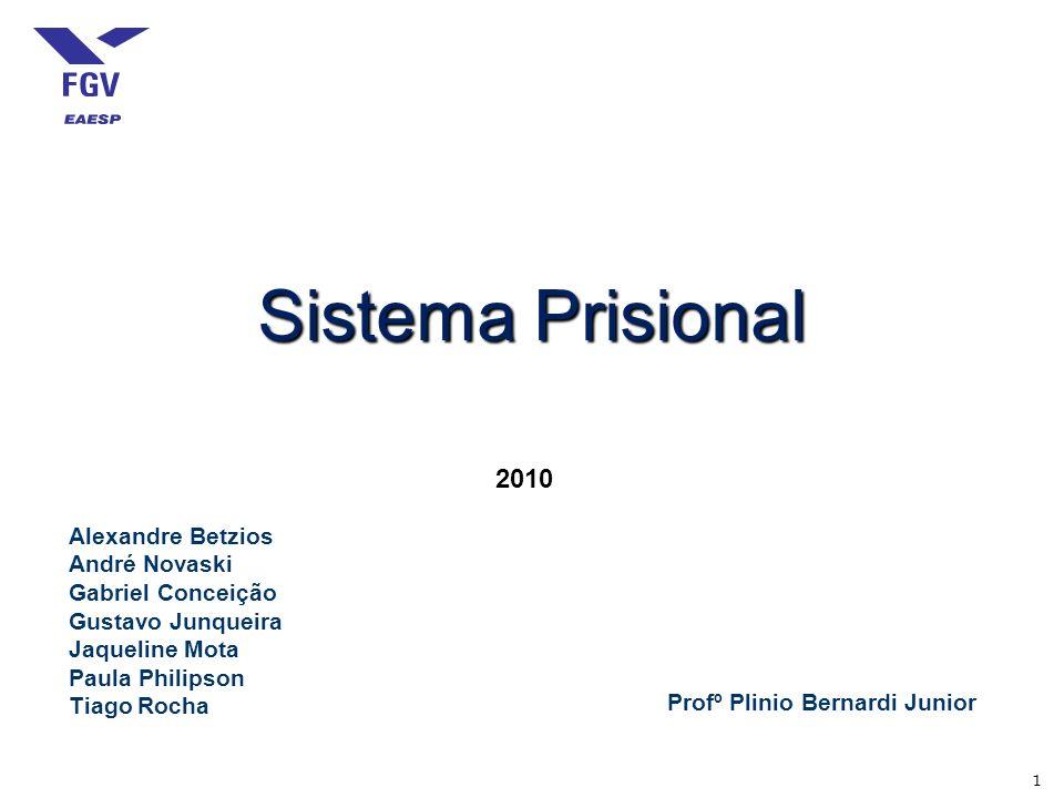 Sistema Prisional 2010 Alexandre Betzios André Novaski