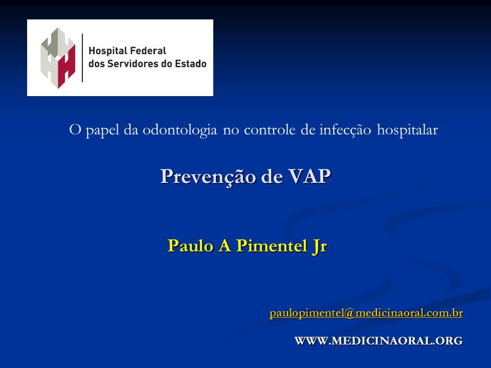 O papel da odontologia no controle de infecção hospitalar