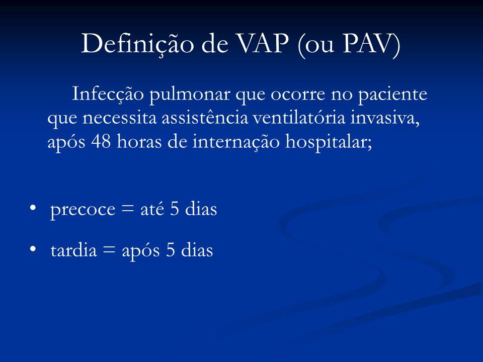 Definição de VAP (ou PAV)