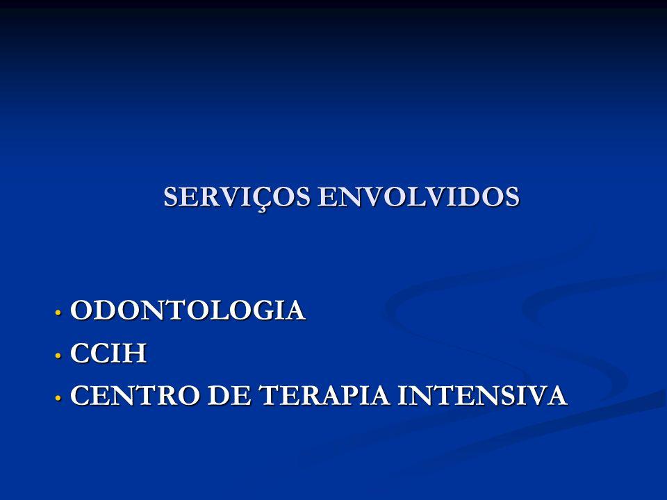 ODONTOLOGIA CCIH CENTRO DE TERAPIA INTENSIVA