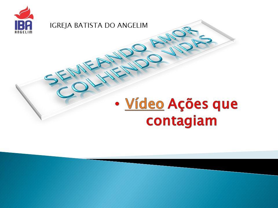 SEMEANDO AMOR COLHENDO VIDAs Vídeo Ações que contagiam