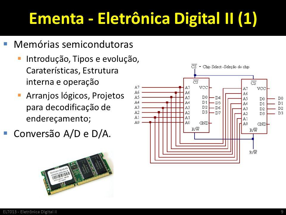 Ementa - Eletrônica Digital II (1)