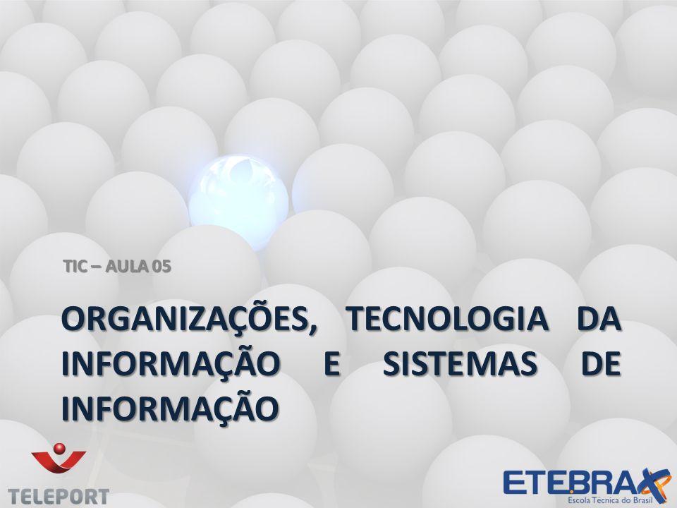 Organizações, tecnologia da informação e Sistemas de Informação