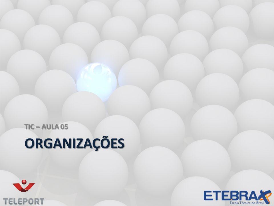 TIC – AULA 05 Organizações