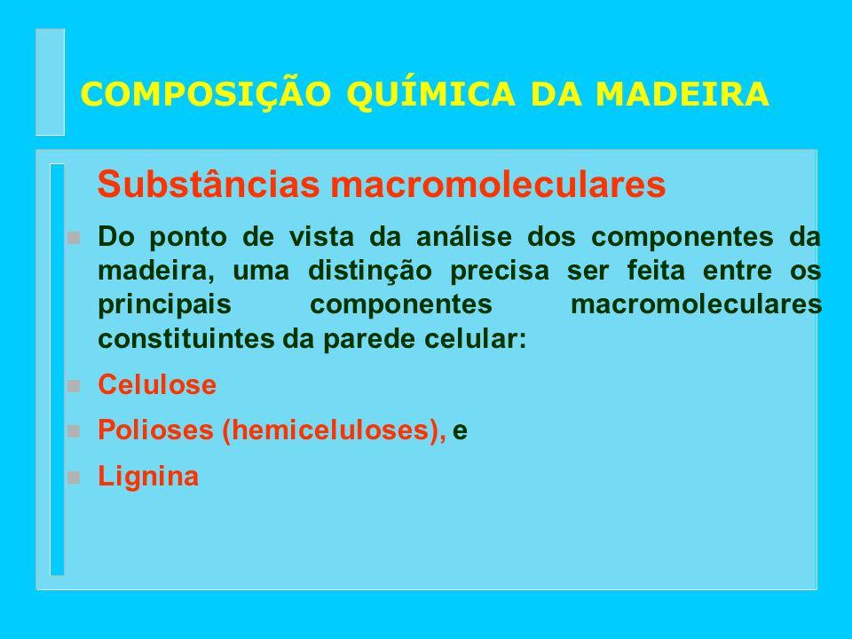 Substâncias macromoleculares