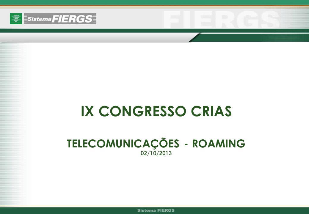 TELECOMUNICAÇÕES - ROAMING