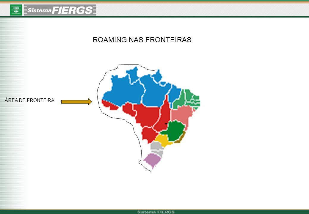 ROAMING NAS FRONTEIRAS