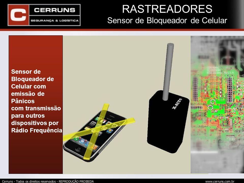 Sensor de Bloqueador de Celular