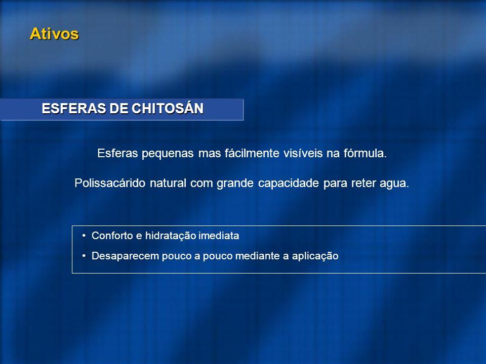 Ativos ESFERAS DE CHITOSÁN