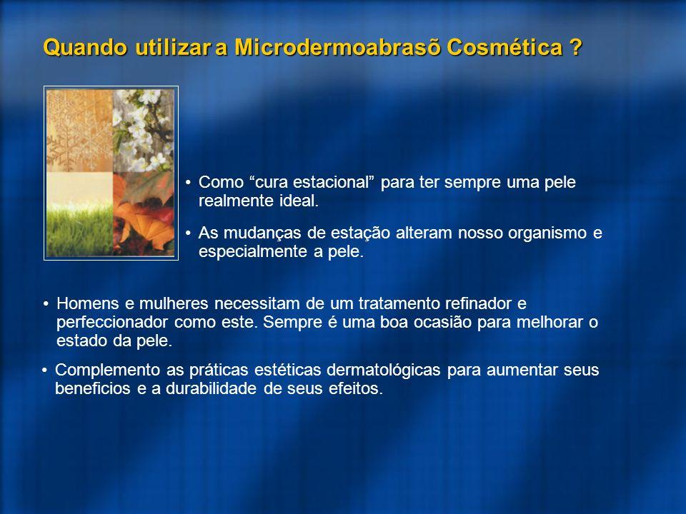 Quando utilizar a Microdermoabrasõ Cosmética
