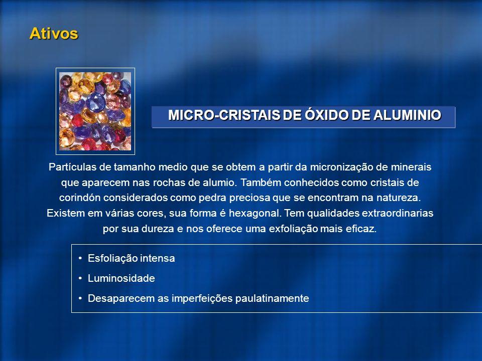 MICRO-CRISTAIS DE ÓXIDO DE ALUMINIO