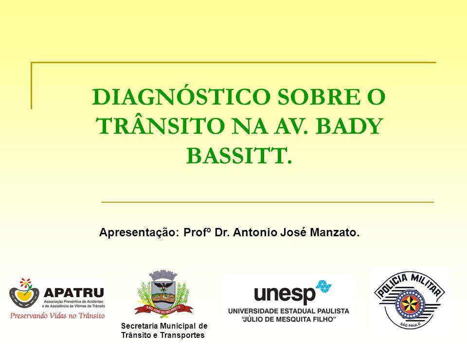 DIAGNÓSTICO SOBRE O TRÂNSITO NA AV. BADY BASSITT.