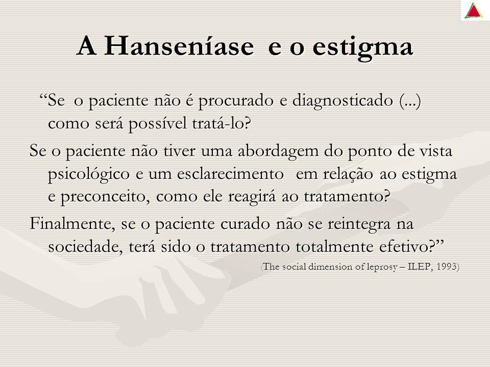A Hanseníase e o estigma