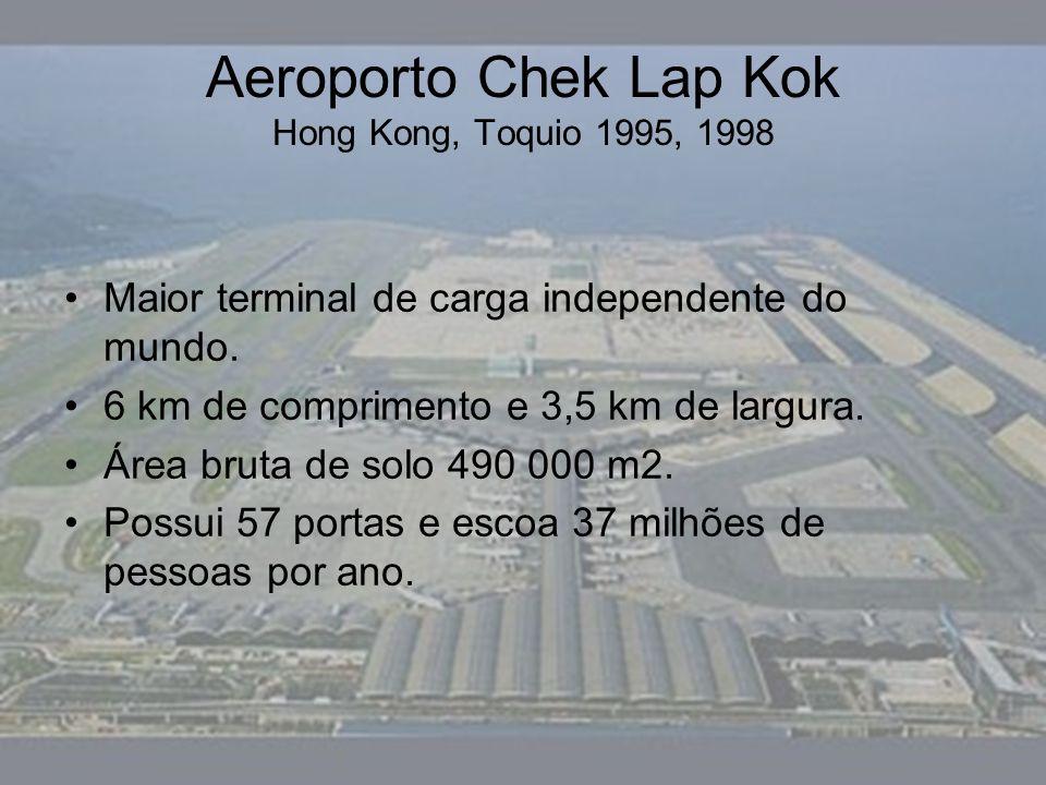 Aeroporto Chek Lap Kok Hong Kong, Toquio 1995, 1998