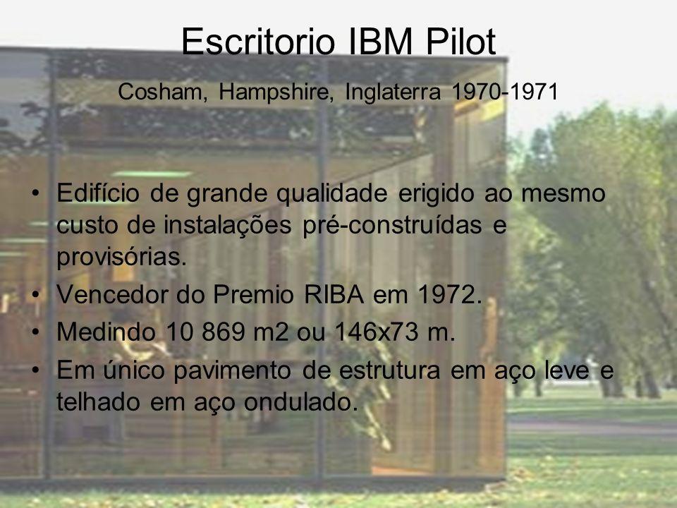 Escritorio IBM Pilot Cosham, Hampshire, Inglaterra 1970-1971