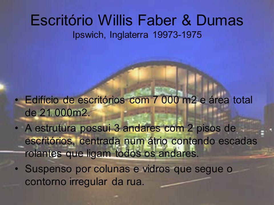 Escritório Willis Faber & Dumas Ipswich, Inglaterra 19973-1975