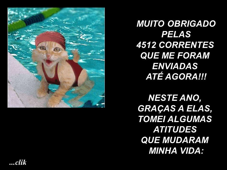 MUITO OBRIGADO PELAS 4512 CORRENTES QUE ME FORAM ENVIADAS ATÉ AGORA!!!