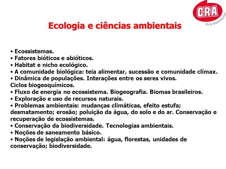Ecologia e ciências ambientais