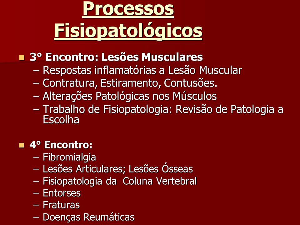 Processos Fisiopatológicos