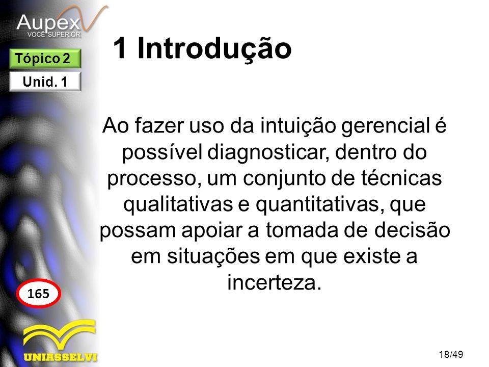 1 Introdução Tópico 2. Unid. 1.