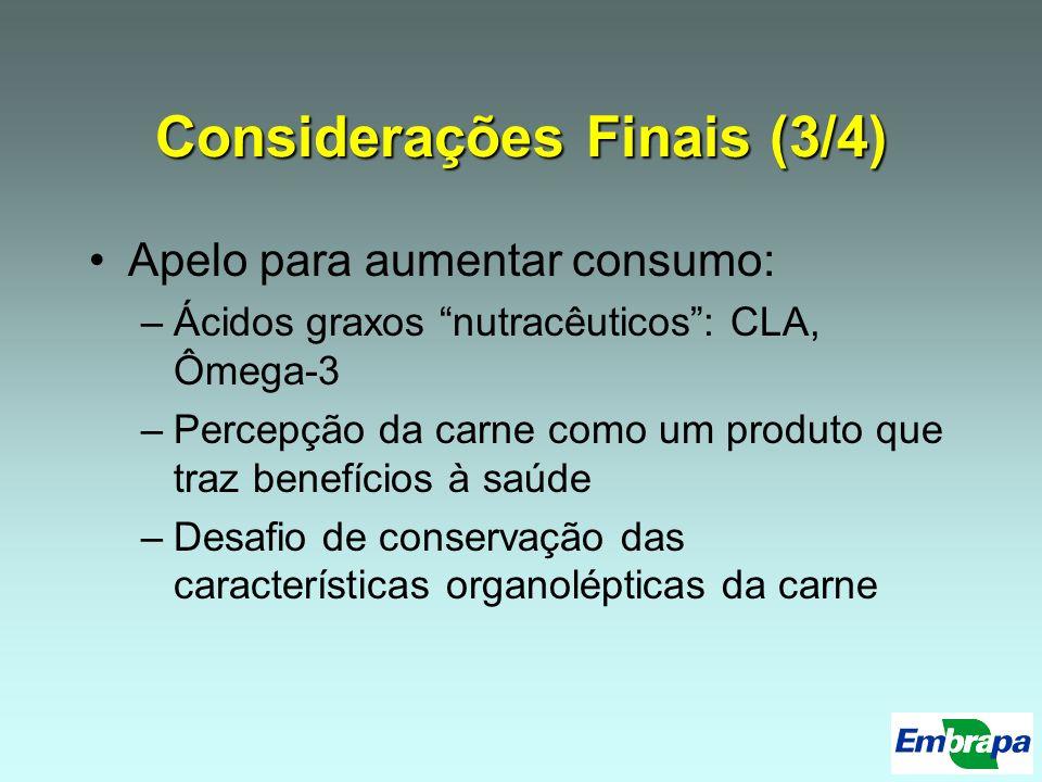 Considerações Finais (3/4)