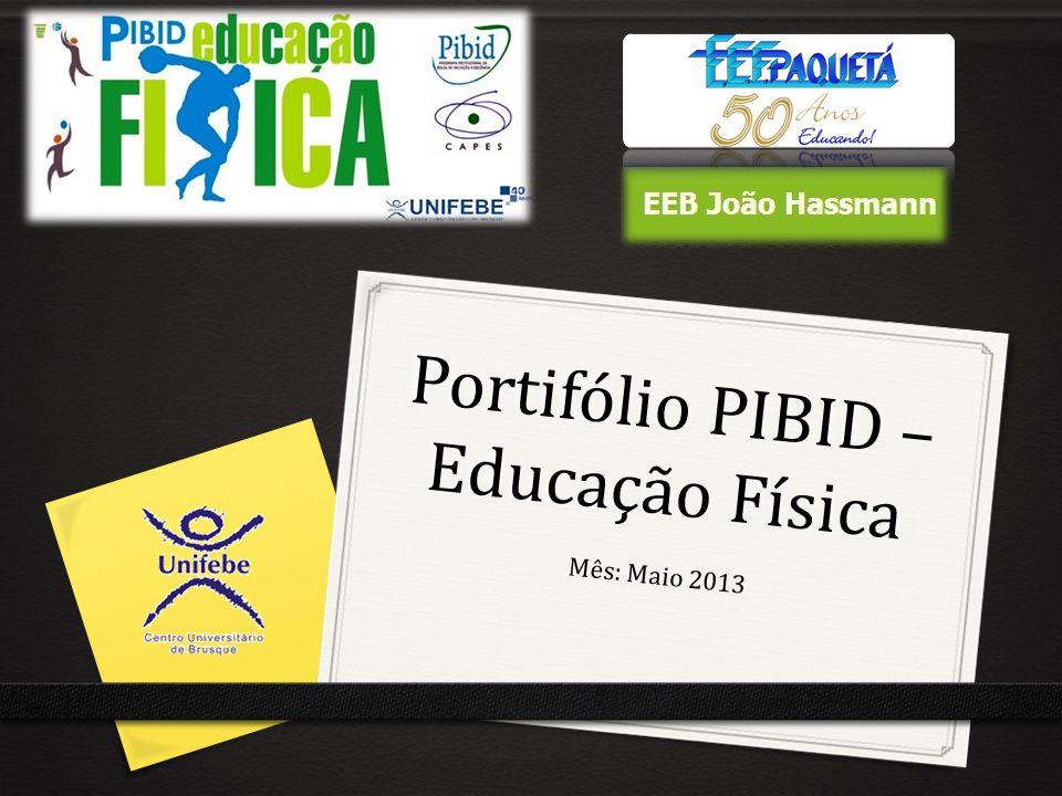Portifólio PIBID – Educação Física